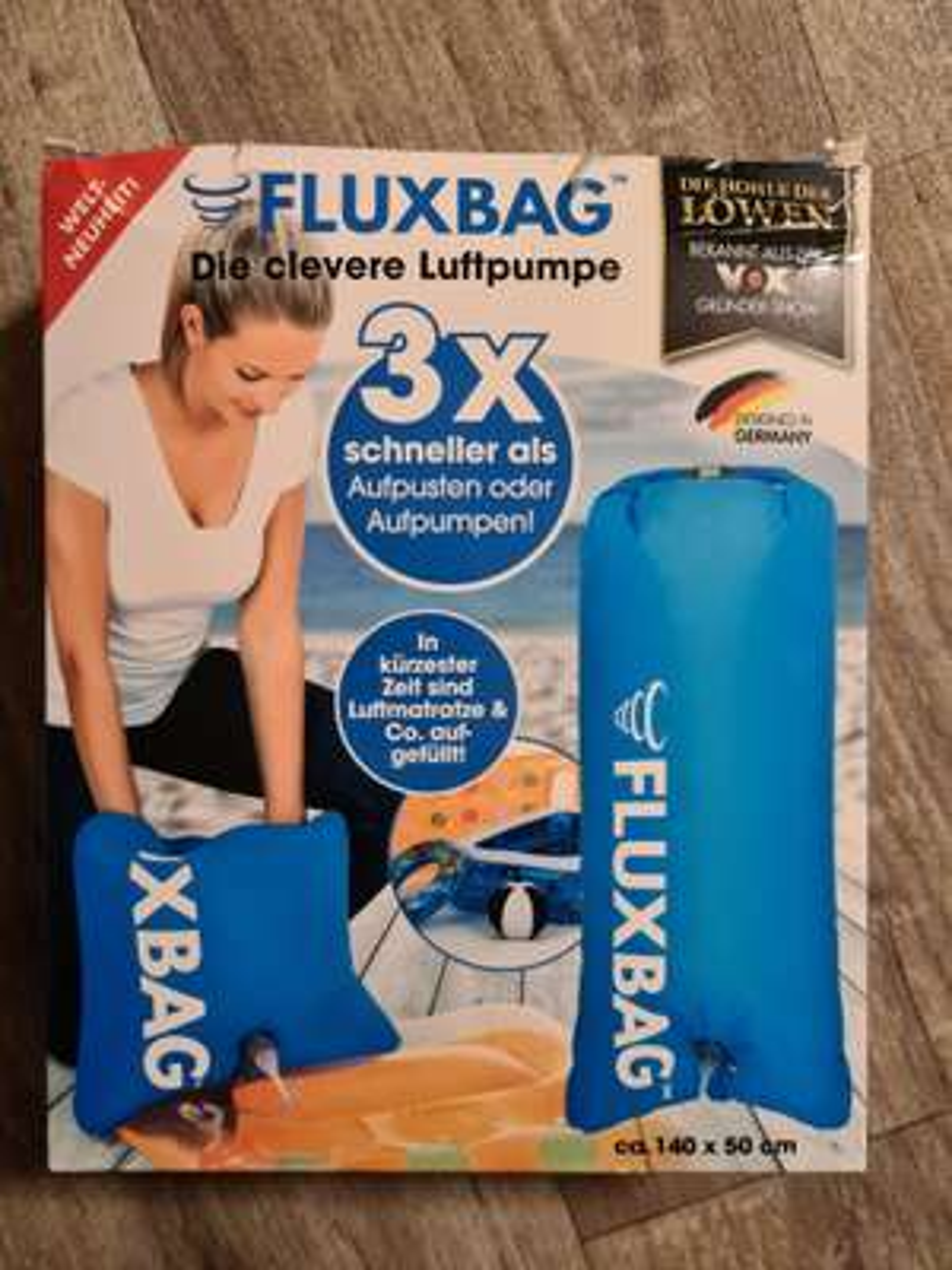 LOKAL Real Neukölln Fluxbag Luftpumpe
