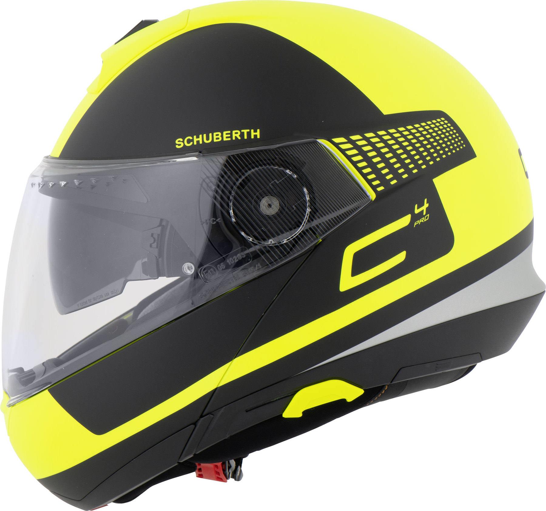 SCHUBERTH C4 PRO LEGACY Motorrad Helm Farbe: matt/schwarz gelb