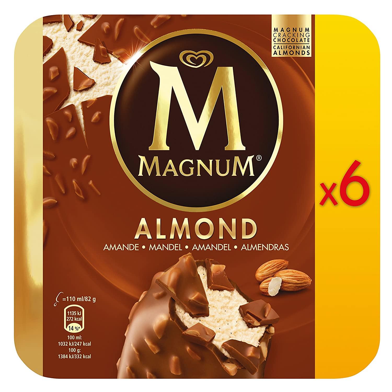 MAGNUM® 6er-Pack Classic oder Almond für nur 2,76€ ab 10.08. [ALDI-NORD]