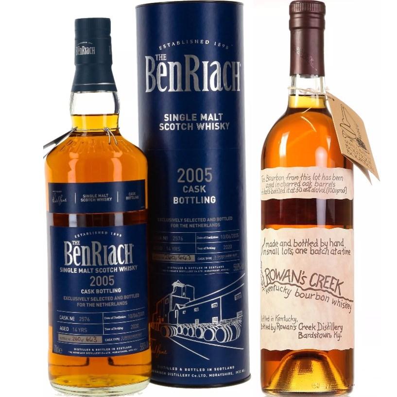 Whisky-Übersicht #41: z.B. Benriach 2005 Oloroso Sherry Cask für 78,45€, Rowan's Creek Small Batch Bourbon Whiskey für 38,45€ inkl. Versand
