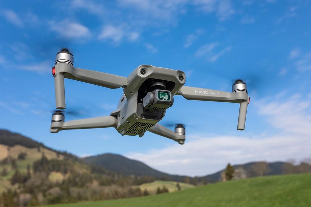 DJI Mavic Air 2 – Drohne mit 4K Video-Kamera, 48 Megapixel Fotos (Amazon)