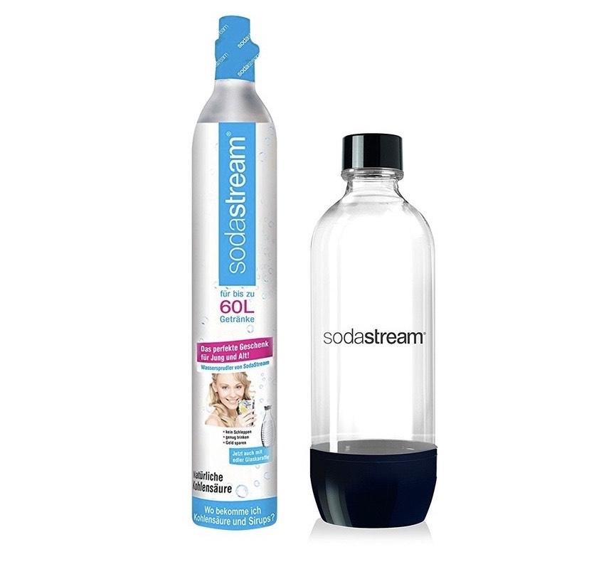 [REWE] Sodastream Reserve-Set CO2-Zylinder 60 l mit PET Flasche
