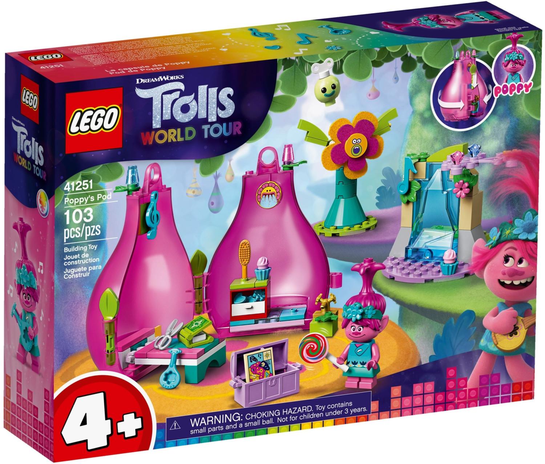 LEGO Trolls - Poppys Wohnblüte (41251) für 11,70€ (Müller Abholung)