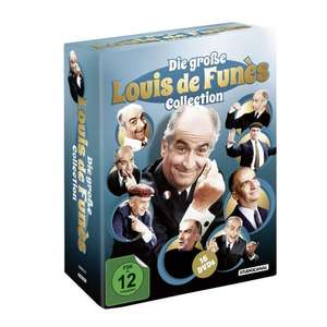 Die große Louis de Funès Collection (16 DVD's)  @ Amazon.de