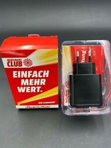 Media Markt: 2er USB Stecker für 2€ - SUPRA 100-240 v