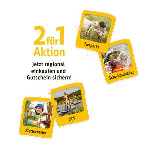 REWE 2-für-1-Aktion Ersparnis z. Bsp. im Tropical Islands