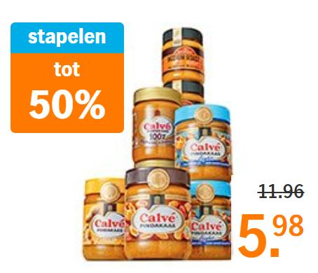 [Grenzgänger NL, Bonuskaart] Calvé Erdnussbutter, diverse Sorten