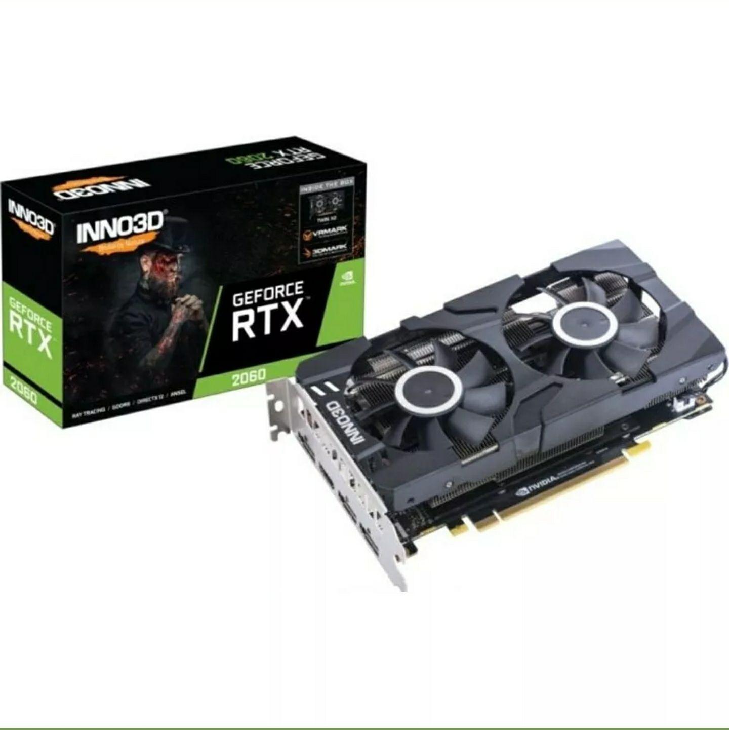 Bestpreis! Inno3D GeForce RTX 2060 6GB Twin X2 - 1x HDMI/3x DisplayPort
