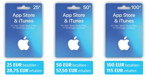 [Aldi Süd ab 17.08] +15% auf Apple App Store & iTunes Guthaben