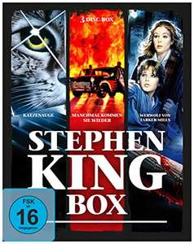Stephen King Collection (3-Filme Set Blu-ray) für 9,74€ (Amazon Prime & Dodax)
