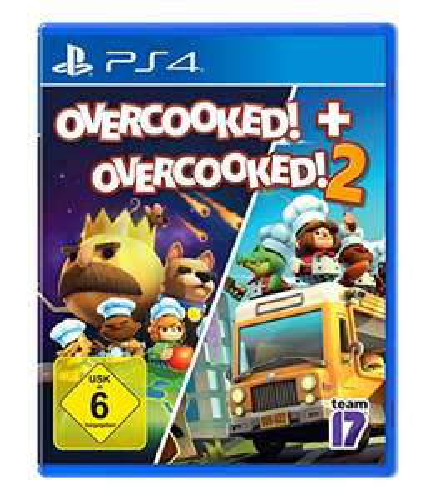 Overcooked! + Overcooked! 2 (PS4) für 17,77€ (Amazon Prime & Saturn & Media Markt Abholung)