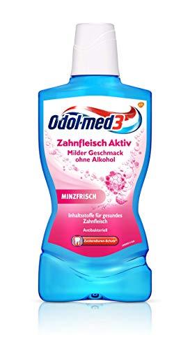 Odol-Med 3 Zahnfleisch Aktiv Mundspülung, 500 Ml @Amazon Prime/ SparAbo