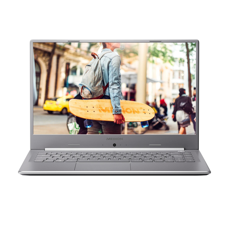 """[Medion Outlet Essen] MEDION Laptop AKOYA P15648, 15.6"""" FHD IPS, i5-10210U, 8 GB RAM, 512 GB SSD, MX250, Backlit Keyboard"""
