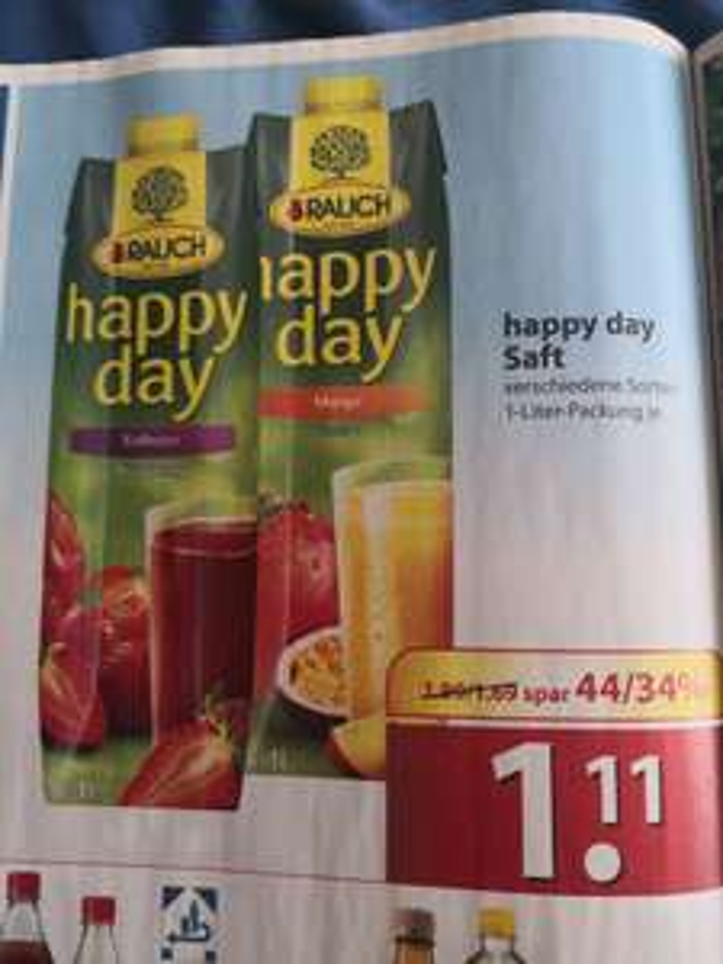 [Famila Nordost] Rauch Happy Day Saft 1L