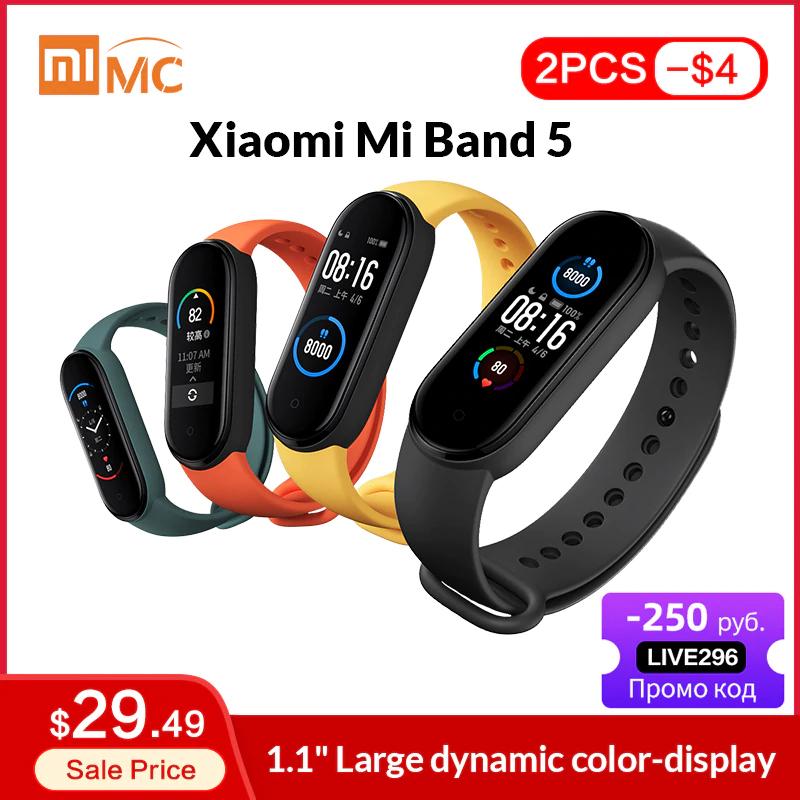 Xiaomi Mi Band 5 Armband Global