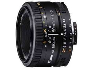 Nikon AF Nikkor 50mm f1.8 D für 107,64 € @Amazon.co.uk Marketplace