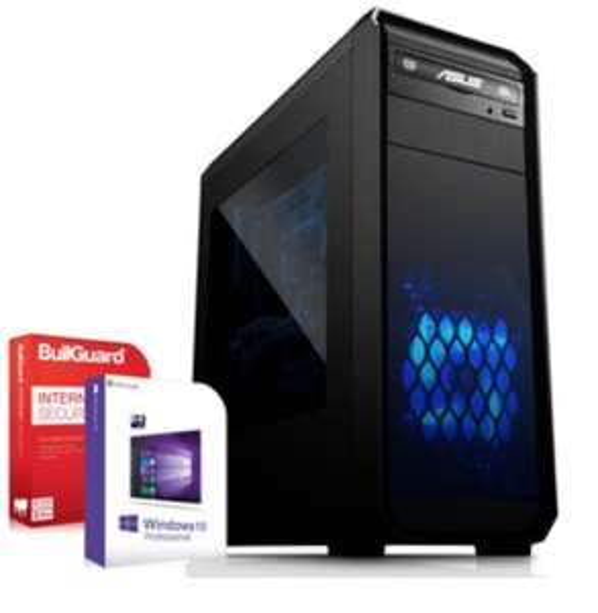Gaming PC; AMD Ryzen 5 2600, Nvidia GeForce RTX 2060 6GB, 16GB RAM, 512GB SSD, 600W, Win 10 Pro