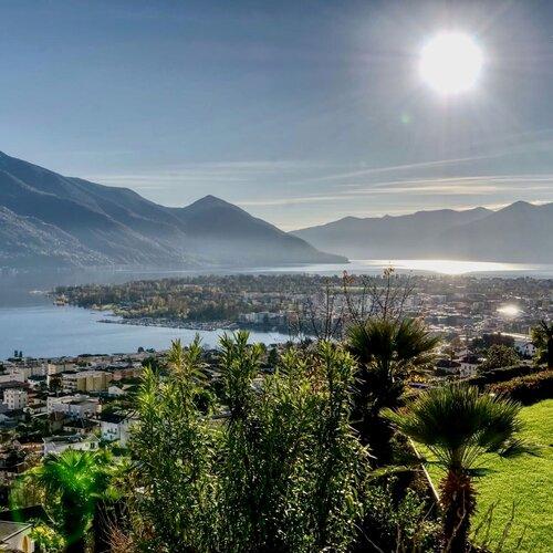 Lago Maggiore, Schweiz: 2 Nächte 3*Smart-Hotel Minusio - Doppelzimmer inkl. Frühstück, Flasche Wein, Parken, Öffis - gratis Storno