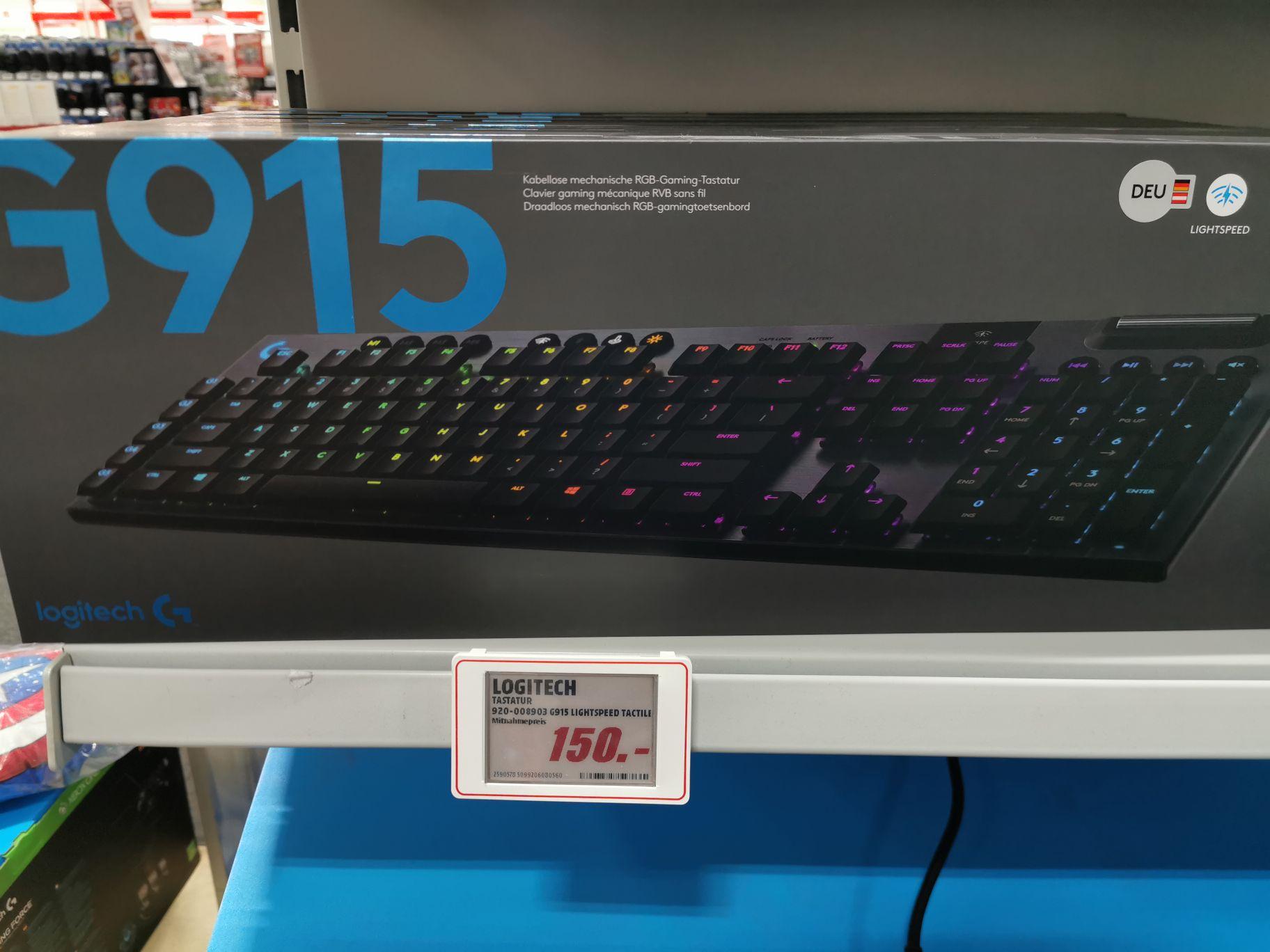 Logitech G915 Gaming Tastatur in Velbert MediaMarkt