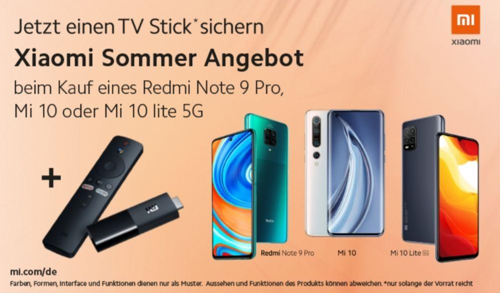 [Xiaomi Promotion] Xiaomi Mi TV Stick 8/1GB (A53 2GHz Prozessor, 1080P Auflösung, Android TV, Atmos/DTS) zum Note 9 Pro | Mi 10 Lite | Mi 10
