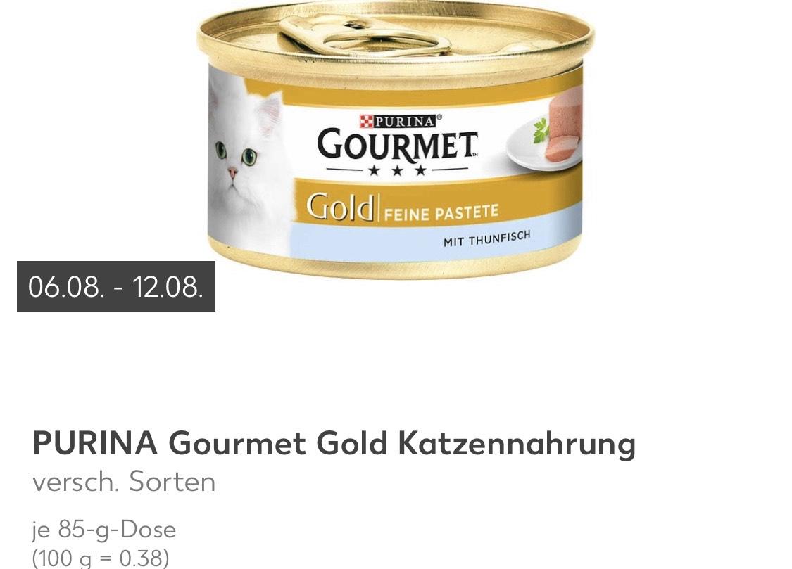[Do-Mi] Kaufland Ost | Lokal: 15x Purina Gourmet mit Coupon für rund 19Cent/Stück
