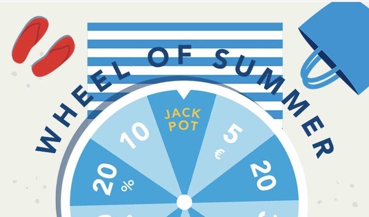 BestSecret Wheel of Summer Gutscheine zu gewinnen