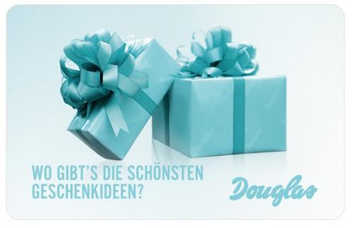 Douglas: Bis zu 10 Geschenke + 5,- Gutschein + 2 Proben, MBW 39,-