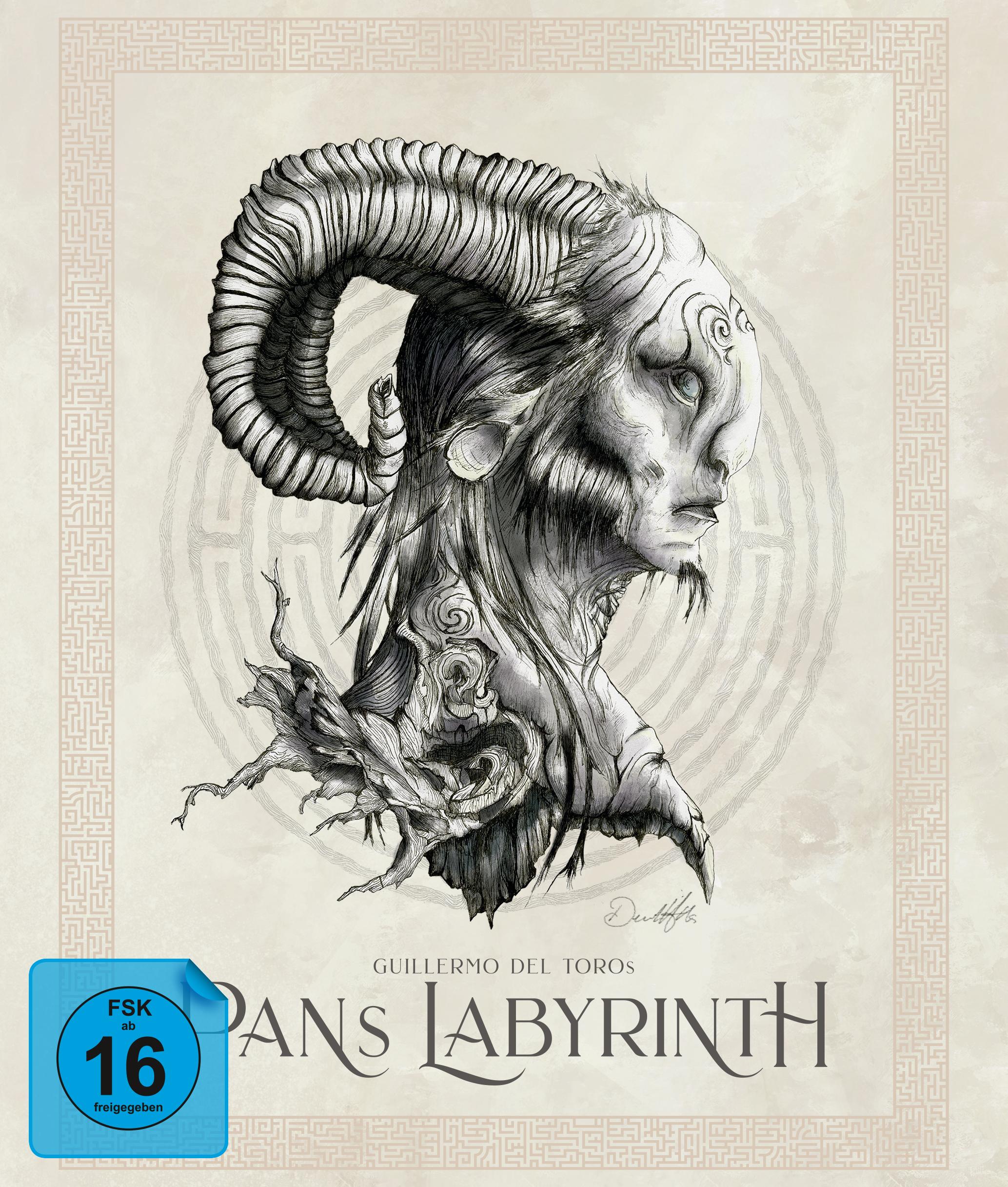 Pans Labyrinth Ultimate Edition (Blu-ray + 3 Bonus Blu-ray + DVD + CD) für 27,30€ (Capelight)