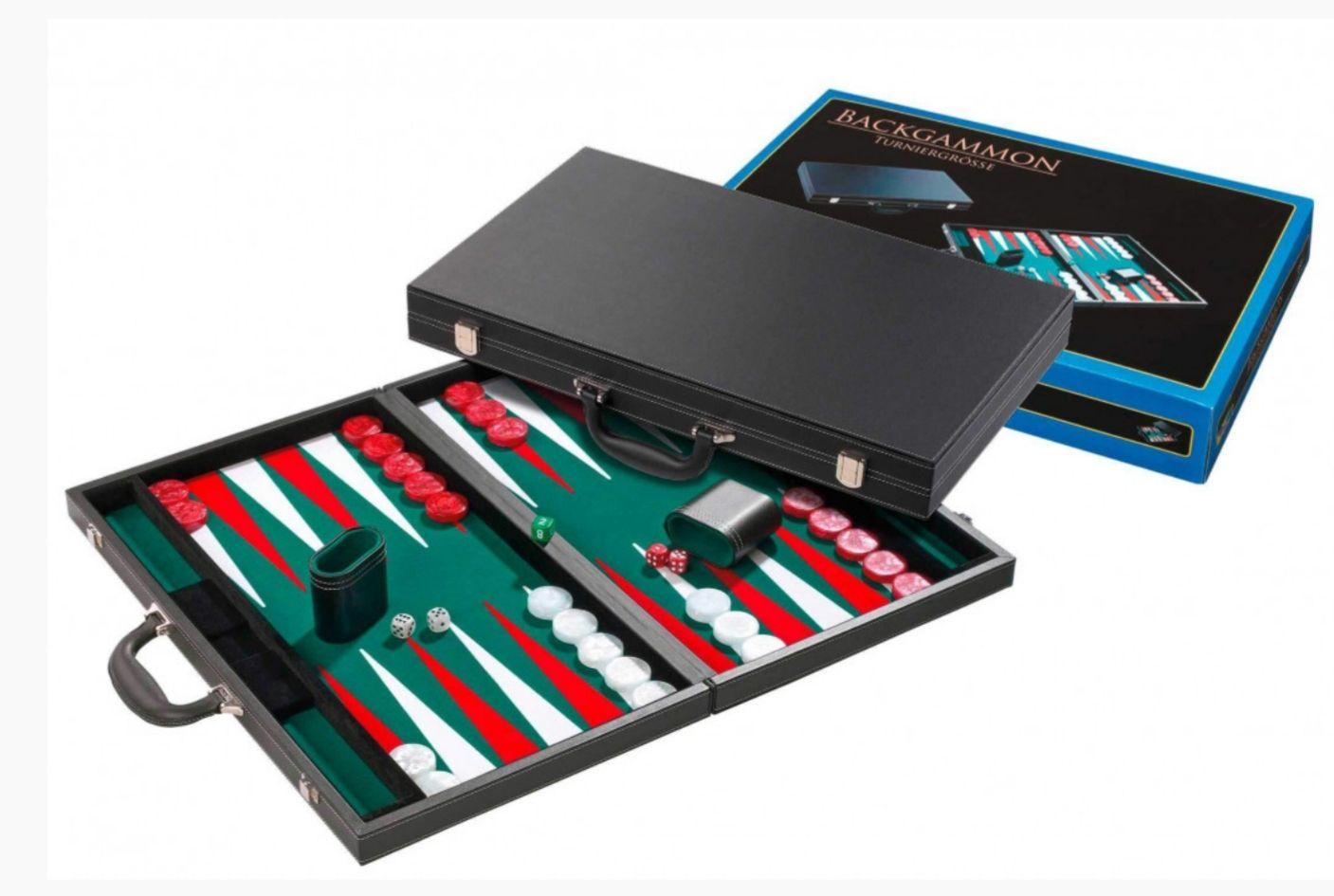 Backgammon - Koffer - Philos