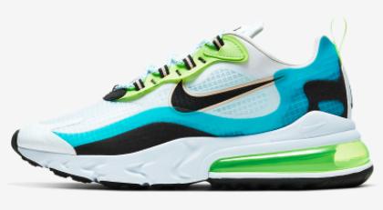 Nike Sale auf ausgewählte React Sneakers, zB.: Air Max 270 React SE (Größen 40 bis 45)