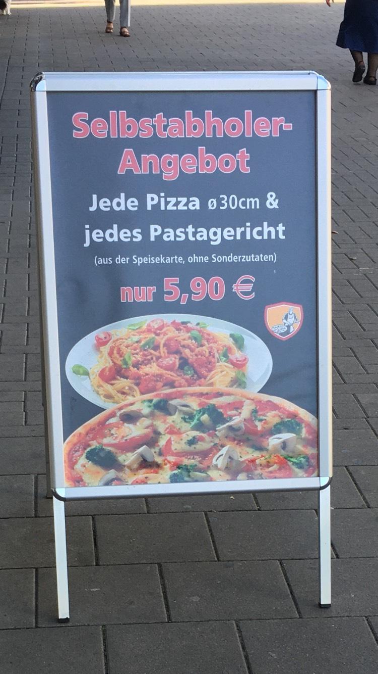 [Köln-Buchforst] 30cm Pizza oder Pasta für nur 5,90€ (Selbstabholer)