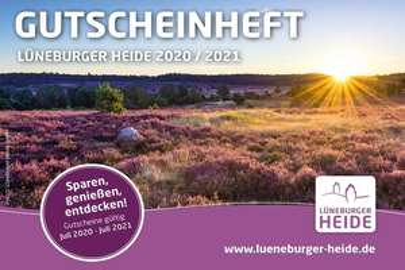 Lokale Coupons: Gutscheinheft Lüneburger Heide, z.B. 10% Rabatt im Designer Outlet Soltau