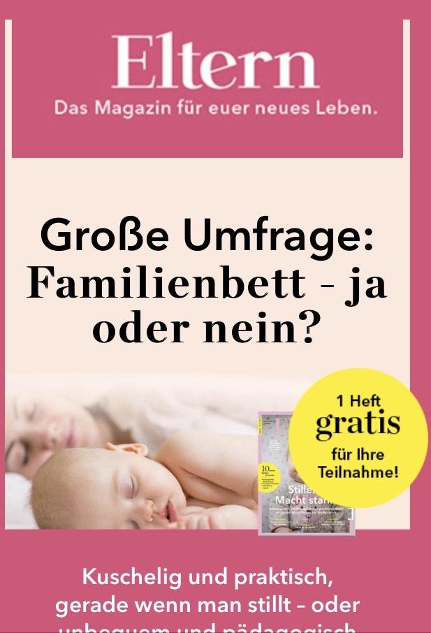1 Ausgabe Eltern Gratis