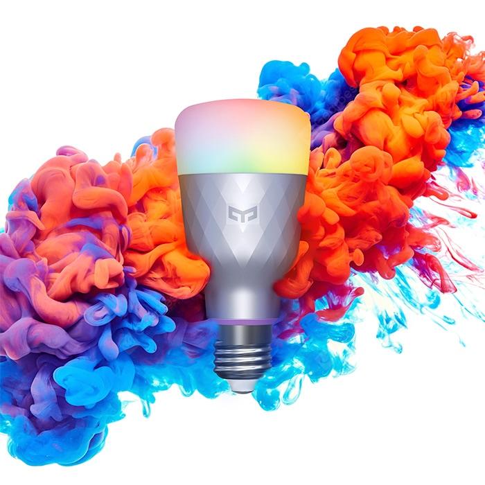 Yeelight 1SE smarte LED-Lampe (E27 6W RGBW AC 100 - 240V) für 15,73€
