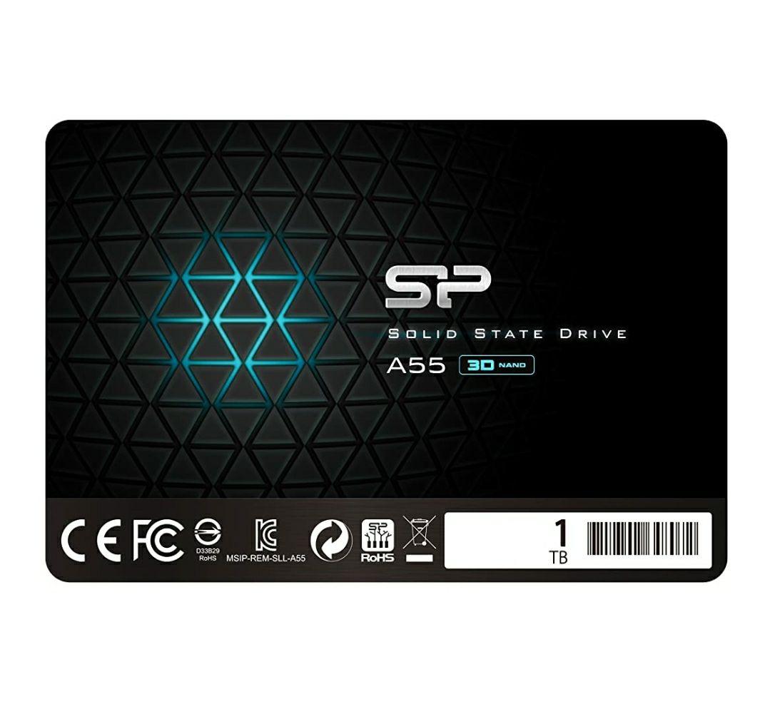 Silicon Power A55 1TB SSD (TLC, kein DRam)