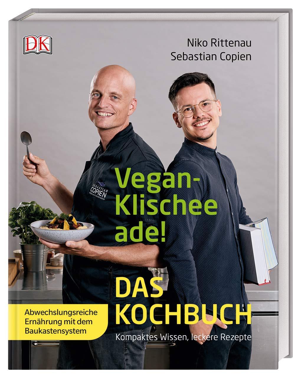 "10 % auf Online Kochkurs zum Kochbuch ""Vegan-Klischee ade! Das Kochbuch"""
