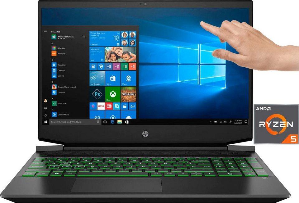 HP Pavilion - 15-ec1234ng Notebook (39,6 cm/15,6 Zoll, AMD Ryzen 5 4600 , Nvidia GTX 1650, 512 GB SSD,16 GB Ram, 144hz