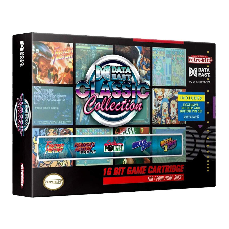 Retro-Bit Data East Classic Collection SNES-Cartridge (Fighters History & Mizoguchi, Magical Drop 1&2, Super Side Pocket) für 17,80€ @ Asos