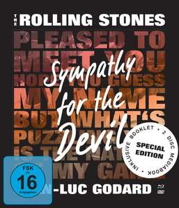 The Rolling Stones: Sympathy for the Devil Special Edition Limited Mediabook Edition (OmU Blu-ray + DVD) für 5,99€ (JPC)