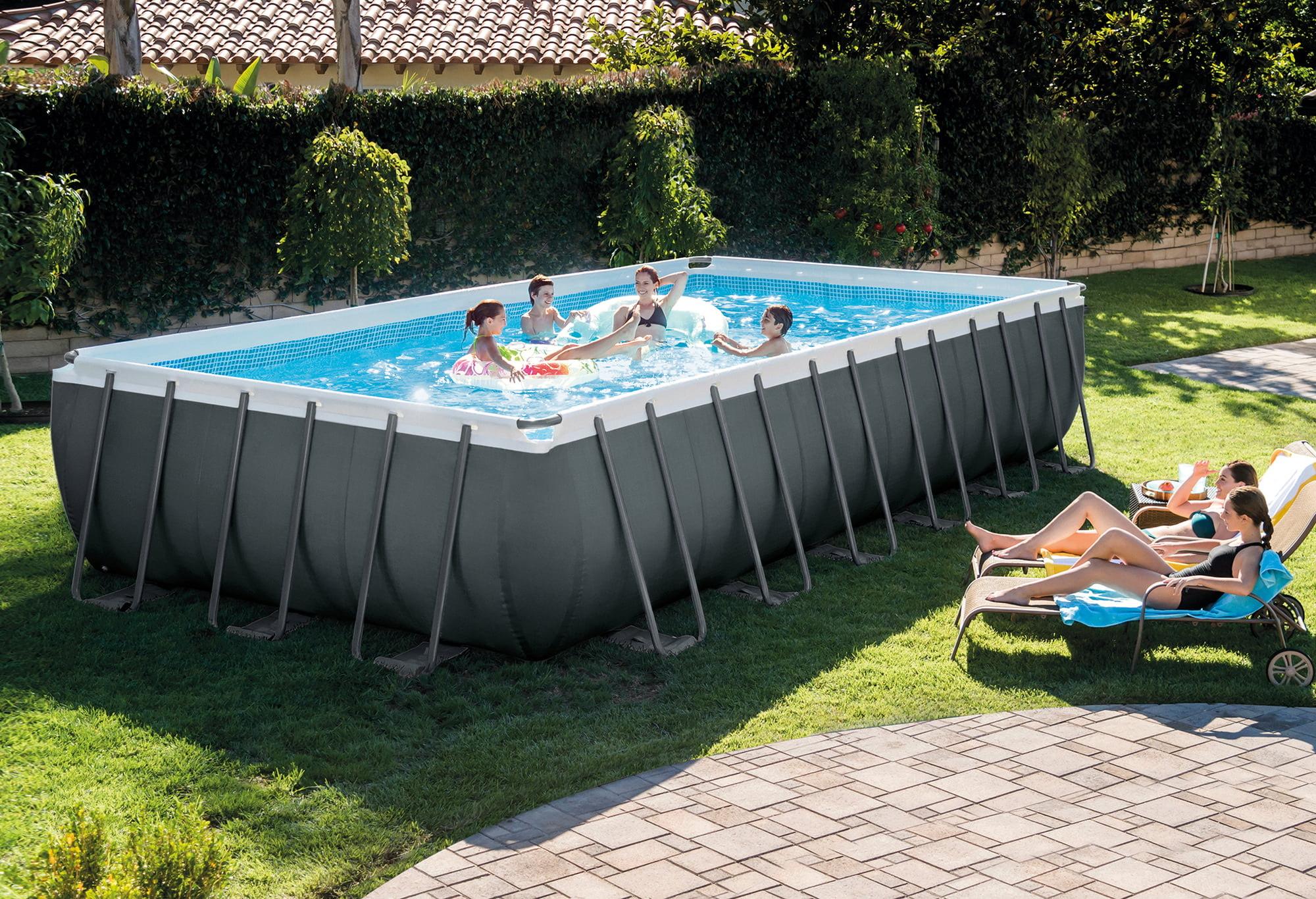 Intex Frame Pool Ultra Quadra XTR 732 x 366 x 132 cm