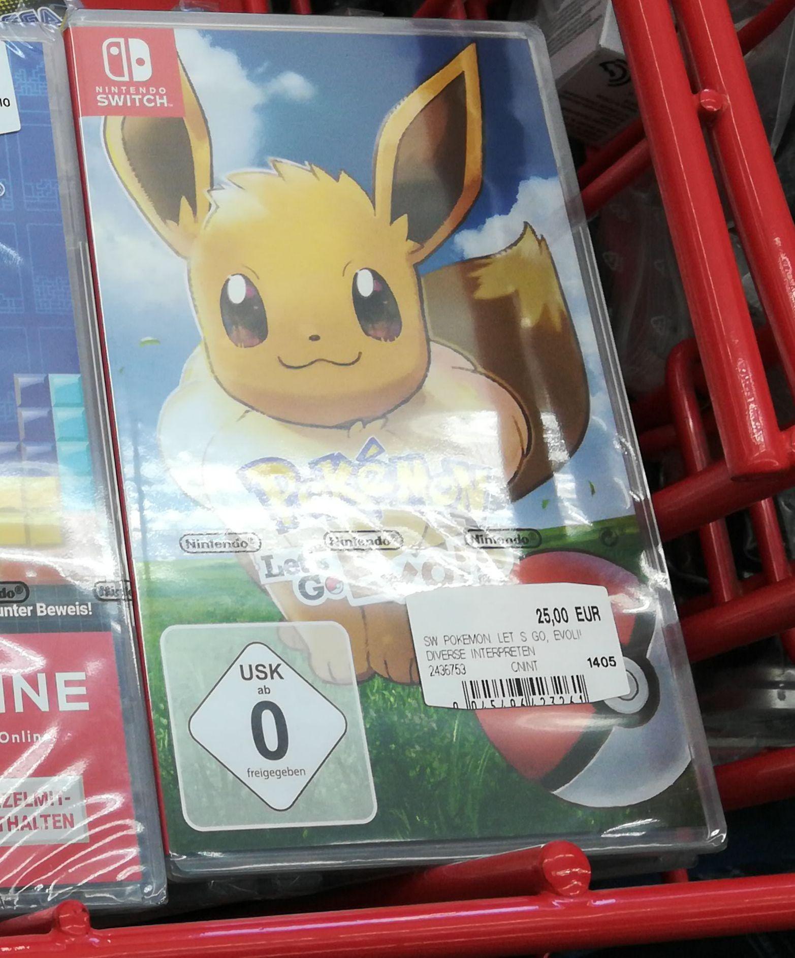 [Lokal Bonn Media Markt] Pokemon Let's Go Evoli Nintendo Switch