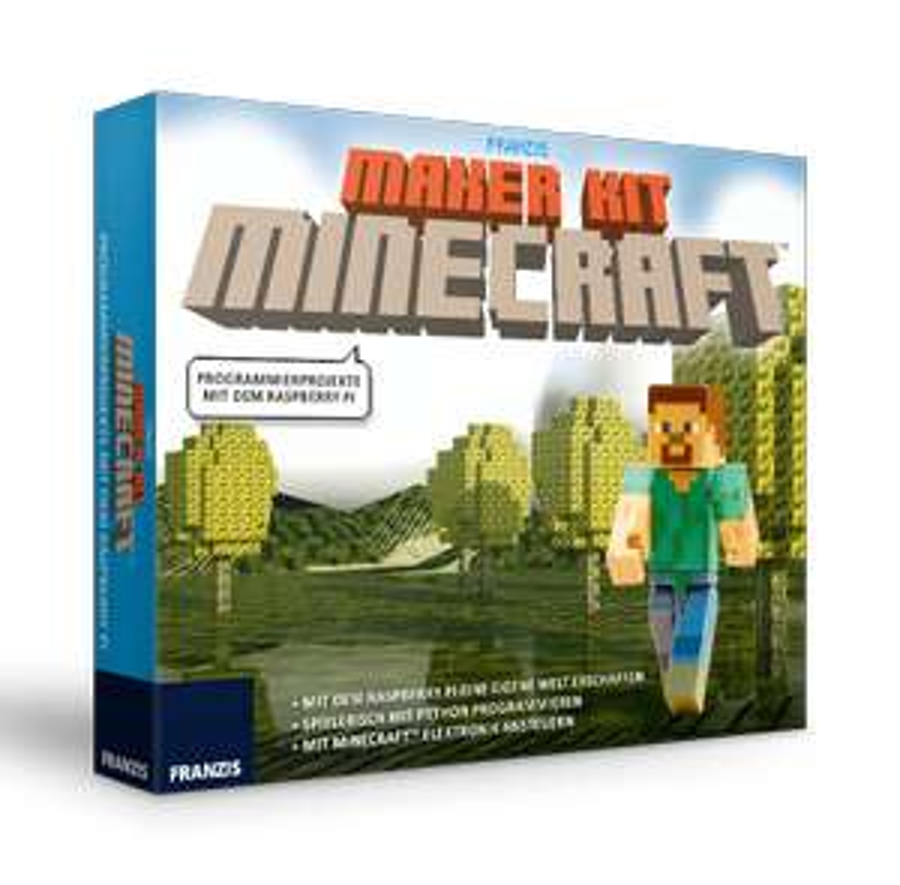 Franzis Maker Kit Minecraft   Programmierprojekte mit dem Raspberry Pi (nicht enthalten)