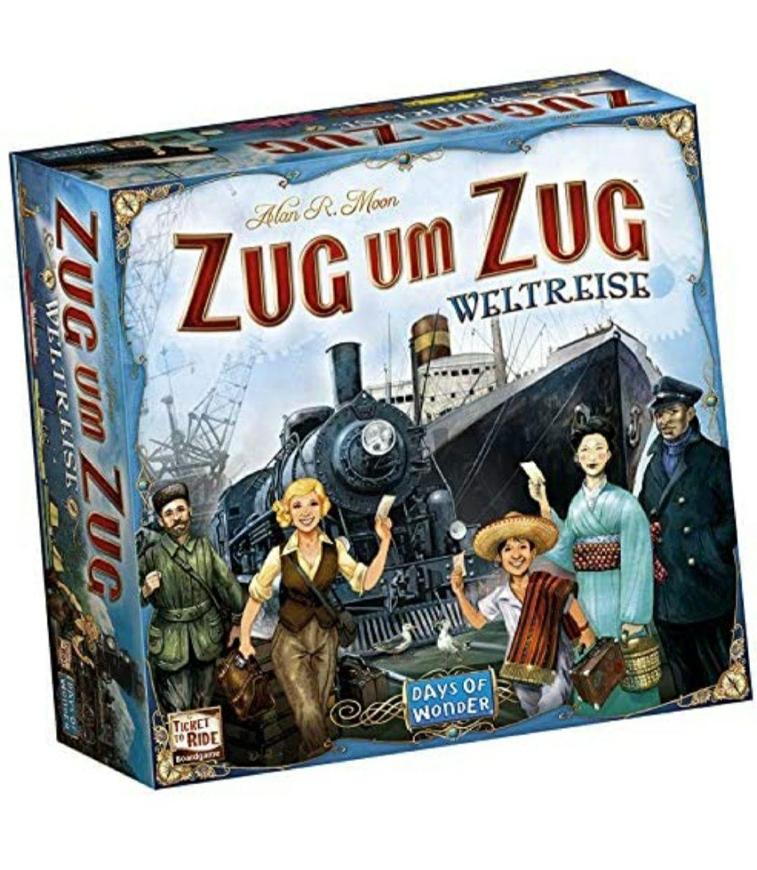"""Brettspiel """"Zug um Zug Weltreise"""""""