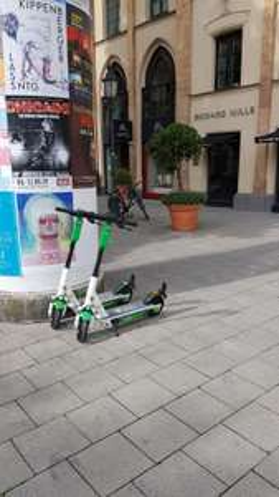 Lime Fahrten für nur 1€