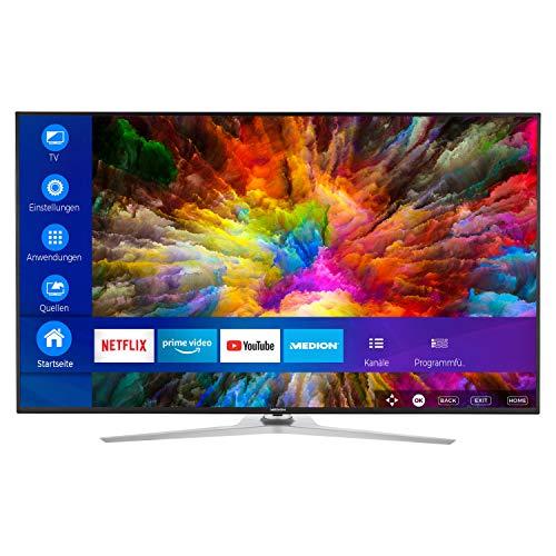 [Medion / Amazon] MEDION X16533 163,9 cm (65 Zoll) UHD Fernseher (Smart-TV, 4K Ultra HD, Dolby Vision HDR, Micro Dimming, MEMC, Netflix)