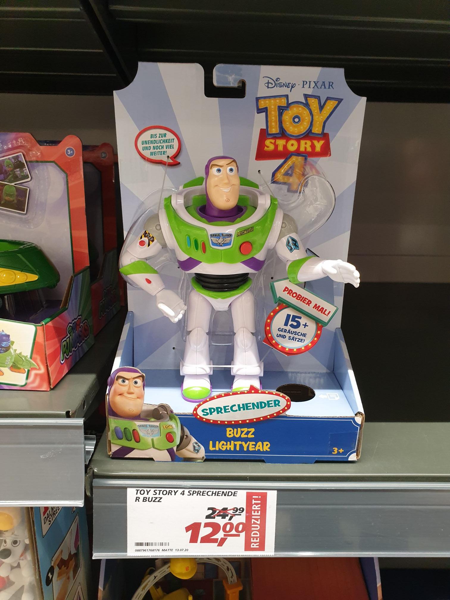 Lokal Sankt Augustin NRW REAL Sprechender Buzz Lightyear Toy Story Disney