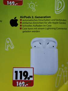 [LOKAL Itzehoe] Apple AirPods 2. Generation bei Hennecke