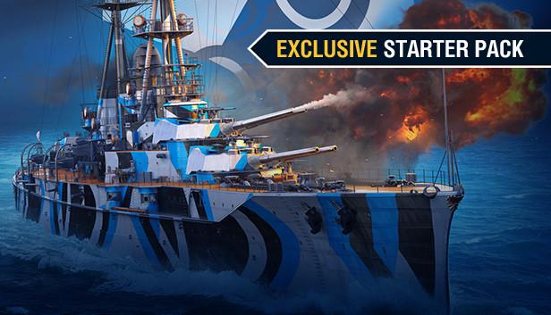 World of Warships Starter Paket