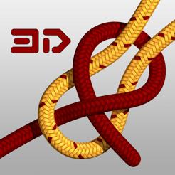 Knots 3D (Knoten 3D) kostenlos (iOS + Android)
