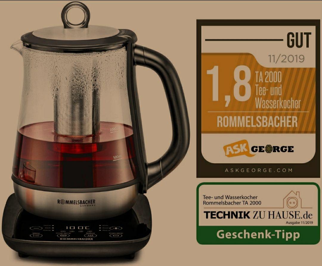 Rommelsbacher TA 2000 Tee- und Wasserkocher B-Ware